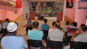 Pınarbaşı'nda Asayiş Toplantısı Düzenlendi