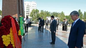 Berdimuhamedov, Kırgızistan Ziyaretini Tamamladı