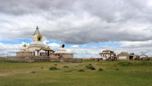 Moğolistan'da 5 Asırlık Tarihi Budist Manastırı