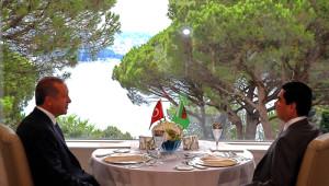 Erdoğan, Türkmenistan Devlet Başkanı ile Bir Araya Geldi