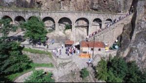 Video) Tourist Flock To Sumela Monastery İn Black Sea Province