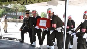 Şehit Jandarma Uzman Onbaşı Oruç, Törenle Uğurlandı