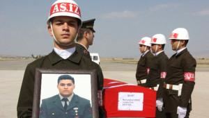 Şehit Muhammet Oruç'un Cenazesi Memleketine Gönderildi