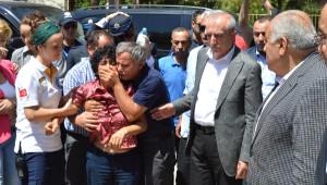 Özay Öğretmen, Tatilden Midyat'a Döndüğünde Polis Eşinin Şehit Olduğu Haberini Aldı (2)