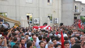 Şehit Polis Alanya'da Gözyaşları Arasında Toprağa Verildi