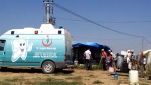 Mevsimlik Tarım İşçi Kamplarında Sağlık Taraması Yapıldı