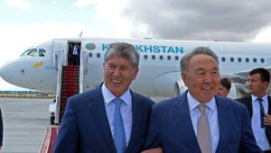 Nazarbayev, Kırgızistan'da