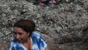 Hacıbektaş'ta Delikli Taş İzdihamı