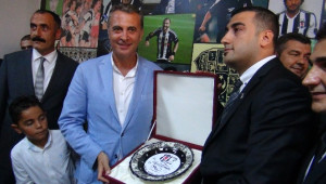 Beşiktaş Başkanı Orman Mersin'de Dernek Açılışı Yaptı