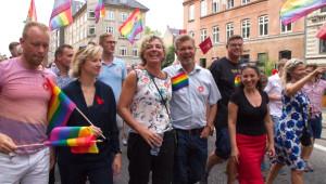 Eşcinseller Kopenhag'da Yürüdü