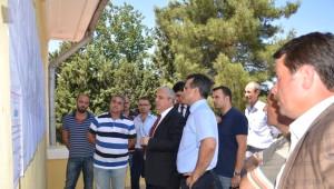 Kahramanmaraş Valisi Güvençer, Türkoğlu'nda İncelemelerde Bulundu