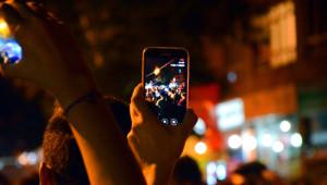 Ankara'da Şehidin Evinin Önünde Eylem