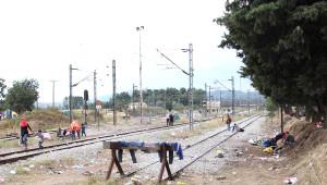 Makedonya Sınırında Kaçakların Avrupa Yürüyüşü - Ek Fotoğraflar
