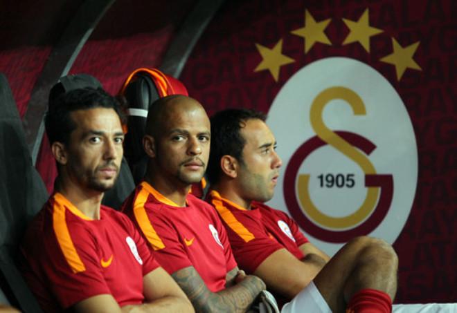 Galatasaray: 1 - Osmanlıspor: 1 (İlk Yarı)