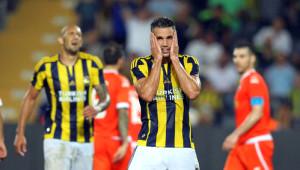 Fenerbahçe: 1 - Atromitos: 0 (İlk Yarı)