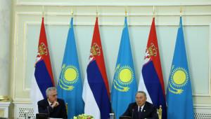 Sırbistan'dan Nazarbayev'e Ödül