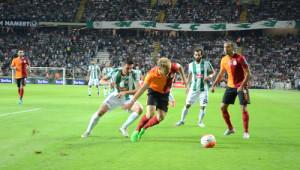 Torku Konyaspor: 1 - Galatasaray: 2 (İlk Yarı)
