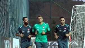 A Milli Futbol Takımı, İstanbul'da Toplandı