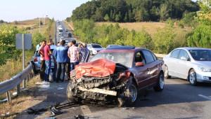 Kandıra'da Deniz Tatili Dönüşü Kaza: 7 Yaralı