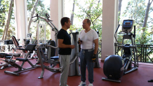 Putin ve Medvedev Beraber Antrenman Yaptı