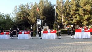 Mardin'de Şehit Polislere Son Görev