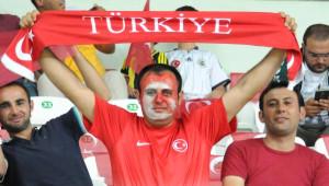 Türkiye A Milli Takımı - Letonya Maçı Fotoğrafları