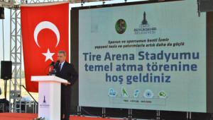 Tire Kurtuluş Gününde Yeni Stadının Yapımına da Başladı
