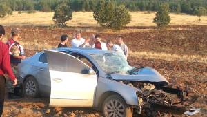 Göksun'da Kaza: 2 Ölü, 8 Yaralı