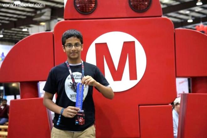 13 yaşındaki Shubham Banerjee