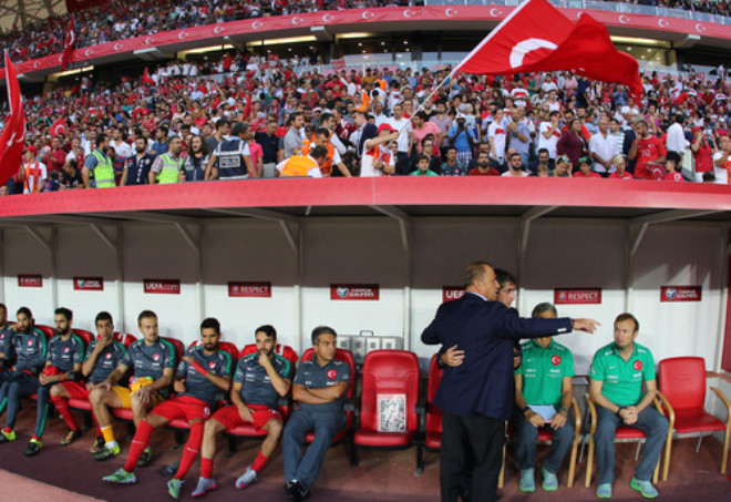 Türkiye: 2 - Hollanda: 0 (İlk Yarı)