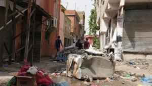 Sur'da Yaşanan Çatışmalarda Tarihi Kurşunlu Camii Harabeye Döndü
