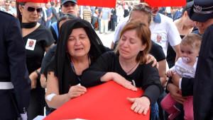 Şehit Polis Ercan Hırçın, Karabük'te Toprağa Verildi