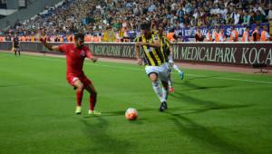 Kasımpaşa: 0 - Fenerbahçe: 1 (İlk Yarı)