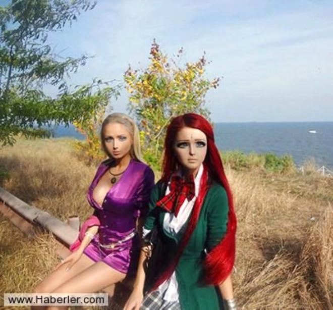 Ukrayna'nın Estetikle Barbie Bebeğe Benzeyen Kadınları