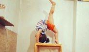 2 Yaşındaki İranlı Jimnastik Çocuk Şaşırtıyor