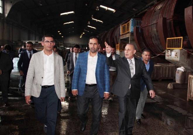 AK Parti Milletvekili Çonkar, Tuzla'da Fabrikaları Ziyaret Etti
