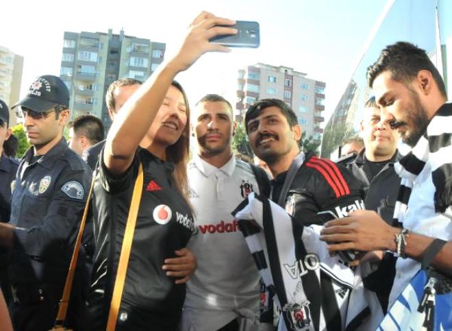Beşiktaş Kafilesi Eskişehir'e Geldi