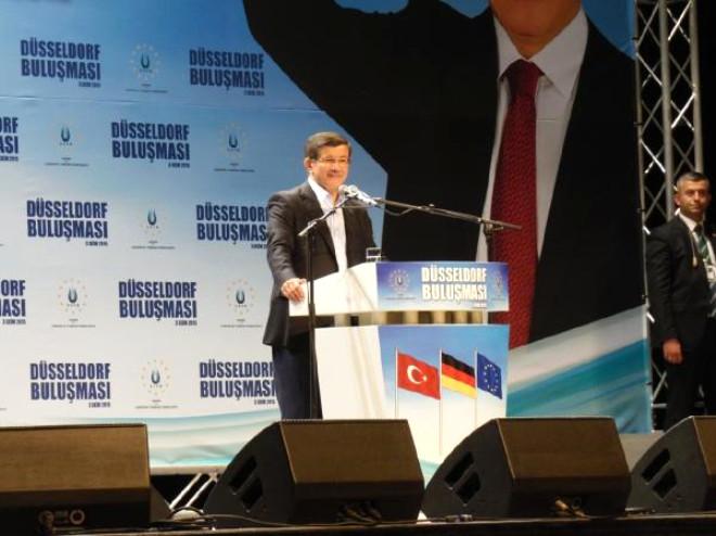 Davutoğlu 'Bir Daha Kimse Bize Karşı Blok Oluşturmaya Kalkmasın'