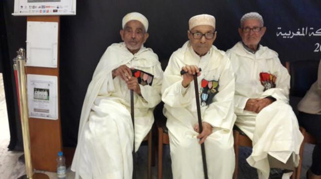Fransa'nın Bağımsızlığı İçin Savaşan Faslı Askerler Anısına Sergi