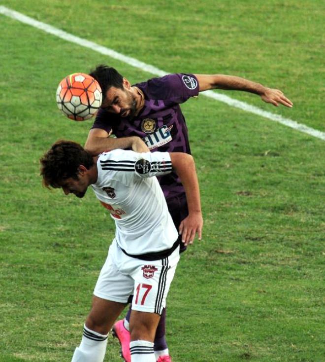 Gaziantepspor-Osmanlıspor: 2-1