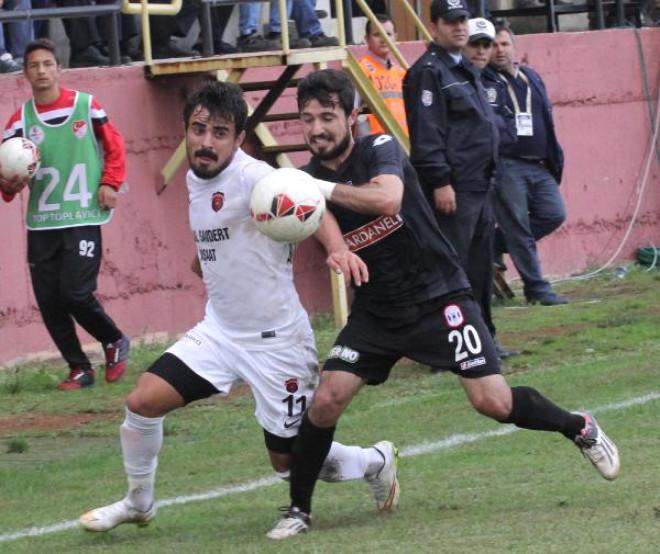 Gölcükspor-Dardanelspor: 0-1
