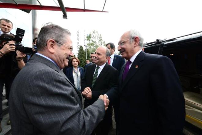 Kemal Kılıçdaroğlu, Hürriyet Gazetesi'ni Ziyaret Ediyor