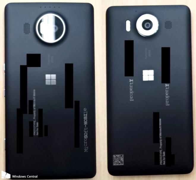 Lumia 950 ve Lumia 950 Xl'nin Net Görselleri Geldi, Üçlü Led Flaş Göründü