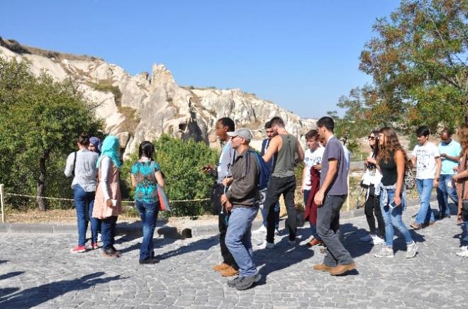 Uluslar Arası Öğrenci Treni Kapadokya'da