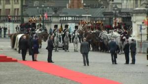 Belçika Kralı Philippe, Erdoğan'ı Resmi Törenle Karşılandı