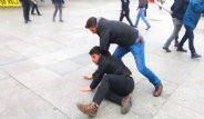 Kadıköy'de Yürüyüş İçin Gelen Gruba, Polis Müdahalesi