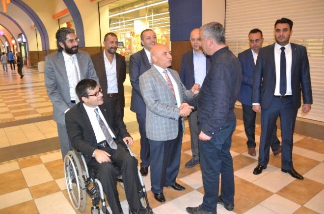 AK Parti Kayseri Milletvekili Adaylarının Seçim Çalışmaları Devam Ediyor