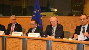 Başkan Kurt Avrupa Parlamentosunda