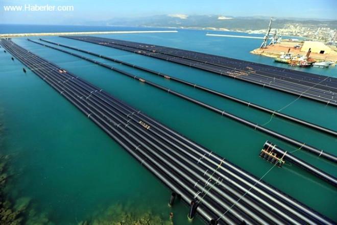 KKTC'ye Yıllık 75 Milyon Metreküp Su İletilecek