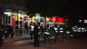 Manisa'da Bin Polisle Seçim Operasyonu